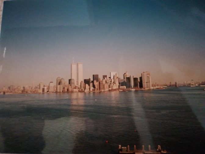The view of Manhattan last time I went to Ellis Island